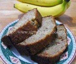 GFCF Banana Nut Bread