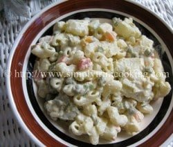 Potato and Macaroni Salad