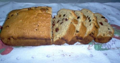 Eggless coconut sweetbread