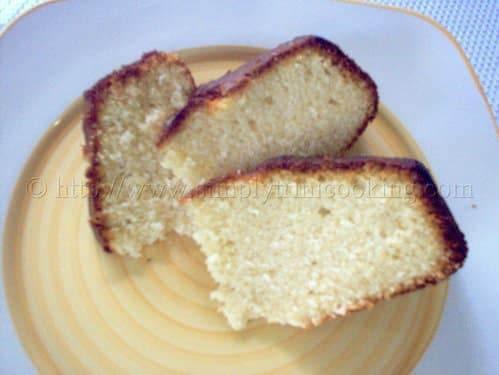 Trinidad Sponge Cake
