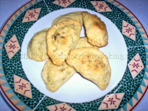 Trinidad Beef Pie (Pastry)