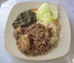 blackeye peas and rice