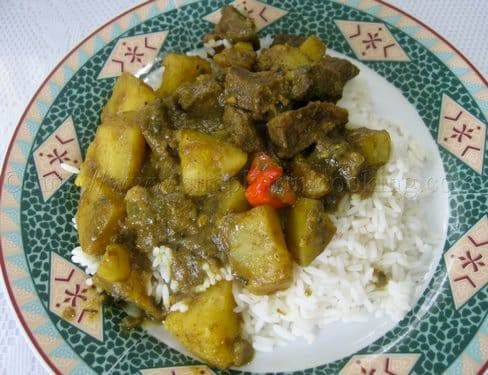 Curry Beef with Potatoes