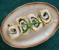 Trini Chicken Roulade