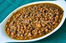 stewed black-eyed peas
