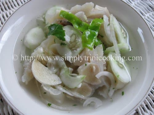 Cow Heel Souse