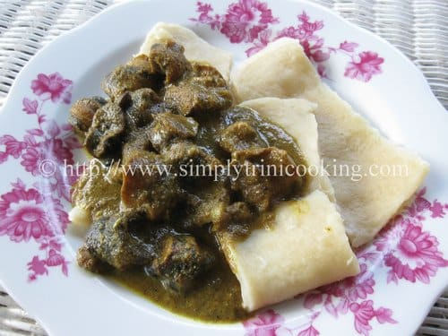 Curry Conchs and Dumpling