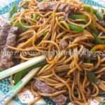 Stir Fry Beef with Noodles