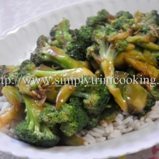 Broccoli in Garlic Sauce