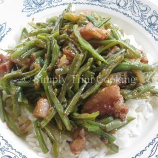 Pig Snout and Bean With Rice